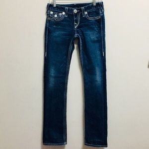 True Religion Low-rise Easy Boot Cut Jeans(28)